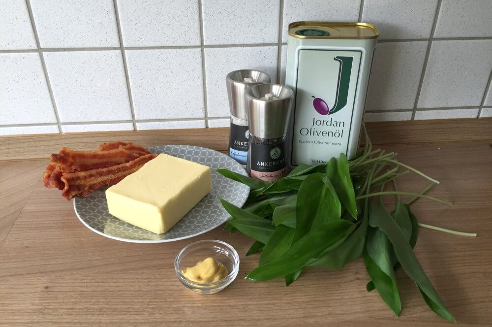 Bärlauch-Butter bärlauch-butter-Baerlauch Butter Bacon 01-Bärlauch-Butter mit Bacon-Crunch