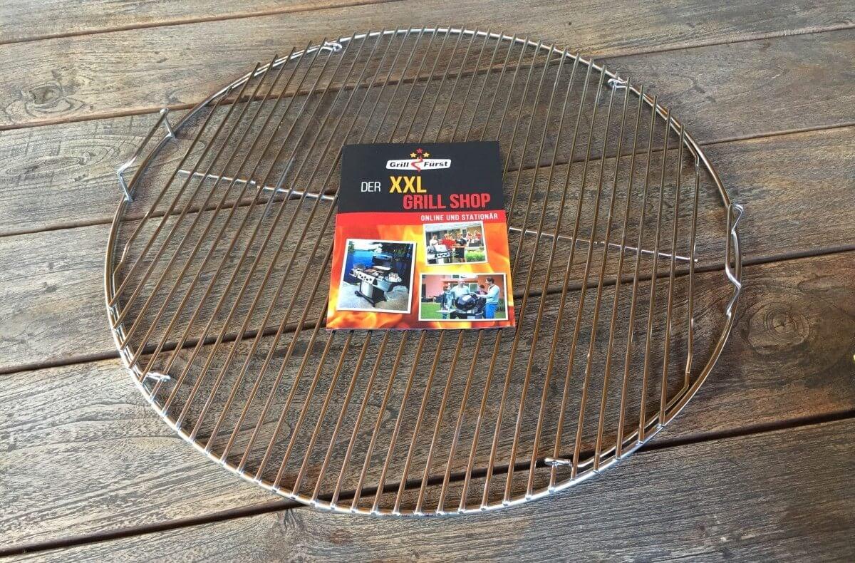 Weber Elektrogrill Rost Reinigen : Edelstahl grillrost cm für kugelgrills weber napoleon etc
