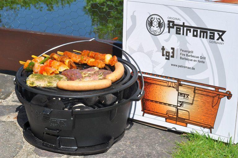 Petromax Feuergrill tg3 – Grill und Dutch Oven Kochstelle im Test