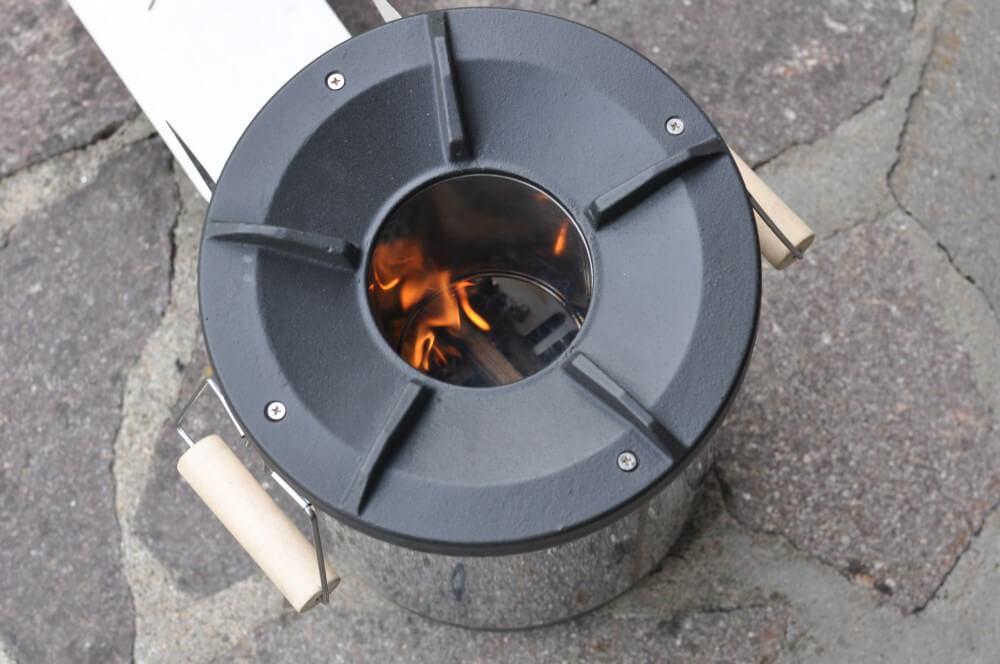 Petromax Rocket Stove petromax raketenofen-PetromaxRaketenofenr f33 RocketStove02-Petromax Raketenofen rf33 (Rocket Stove) im BBQPit-Test