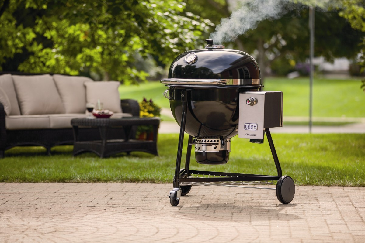 Weber Holzkohlegrill Grill Anleitung : Weber summit charcoal grill der luxus holzkohle kugelgrill