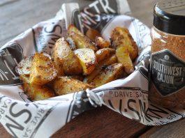 Kartoffelecken vom Grill bbqpit.de das grill- und bbq-magazin - grillblog & grillrezepte-Cajun Country Potatoes gegrillte Kartoffelecken 265x198-BBQPit.de das Grill- und BBQ-Magazin – Grillblog & Grillrezepte –