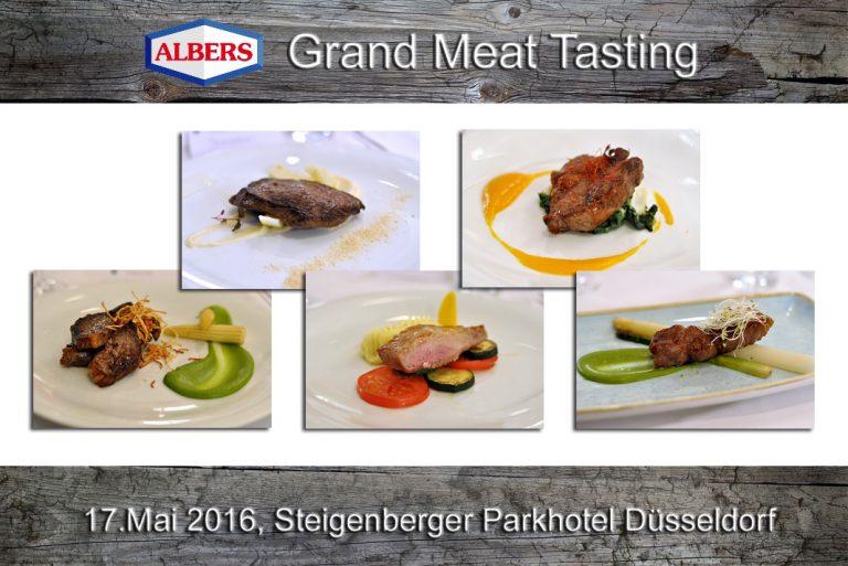 Albers Grand Meat Tasting im Steigenberger Parkhotel Düsseldorf