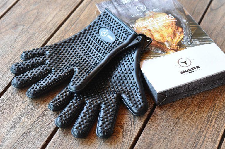Moesta-BBQ MeatGloves – hitzebeständige Silikon-Grillhandschuhe