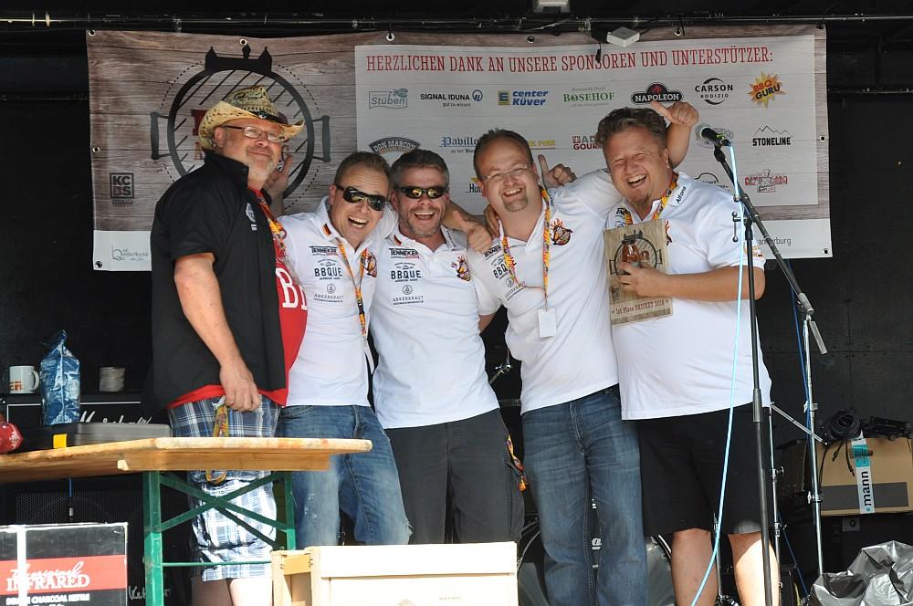 BBQ an der Burg bbq an der burg-BBQ an der Burg Bad Bederkesa BBQ Wiesel 02-BBQ an der Burg / Bad Bederkesa: BBQ Wiesel werden KCBS Grand Champion