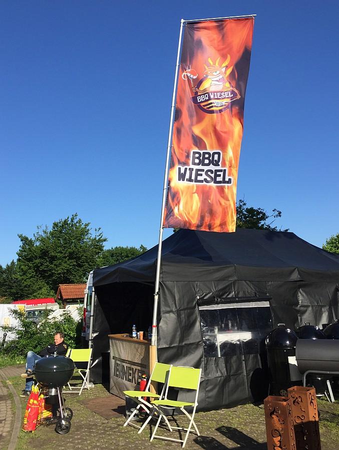 BBQ an der Burg bbq an der burg-BBQ an der Burg Bad Bederkesa BBQ Wiesel 07-BBQ an der Burg / Bad Bederkesa: BBQ Wiesel werden KCBS Grand Champion