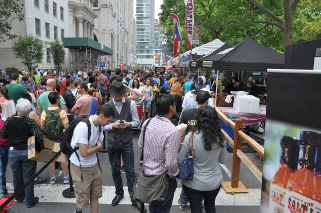 big apple bbq block party-Big Apple BBQ Block Party 2016 43 633x420-Big Apple BBQ Block Party 2016 in New York