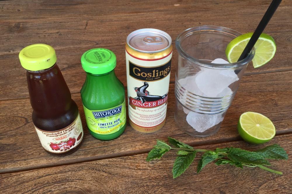 Granatapfel-Ingwer-Limo granatapfel-ingwer-limonade-Granatapfel Ingwer Limonade 01-Erfrischende Granatapfel-Ingwer-Limonade
