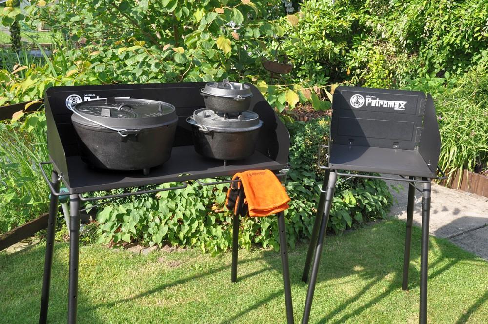 Petromax Dutch Oven Tisch  dutch oven tisch-Petromax Dutch Oven Tisch Feuertopf FE45 FE90 03-Petromax Dutch Oven Tisch / Feuertopf-Tisch fe90 und fe45
