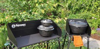 Feuertopf Tisch FE90 und FE45