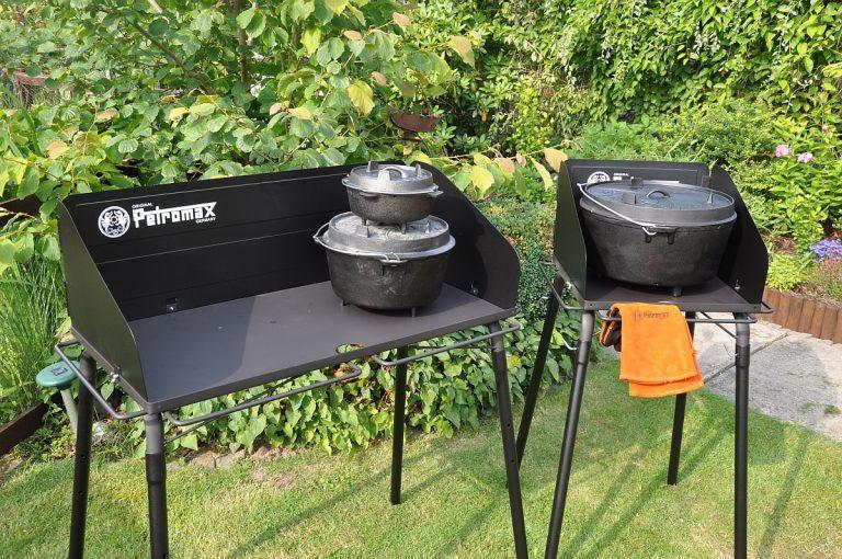 Petromax Dutch Oven Tisch / Feuertopf-Tisch fe90 und fe45