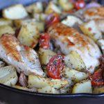 Mediterrane Hähnchenpfanne mediterrane hähnchenpfanne-Mediterrane Haehnchenpfanne 150x150-Mediterrane Hähnchenpfanne mit Tomaten und Zucchini
