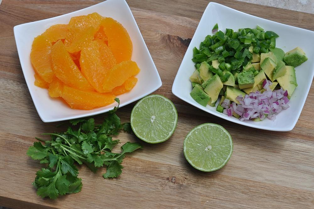 Orangen-Avocado-Salsa Orangen-Avocado-Salsa-Orangen Avocado Salsa 01-Fruchtige Orangen-Avocado-Salsa
