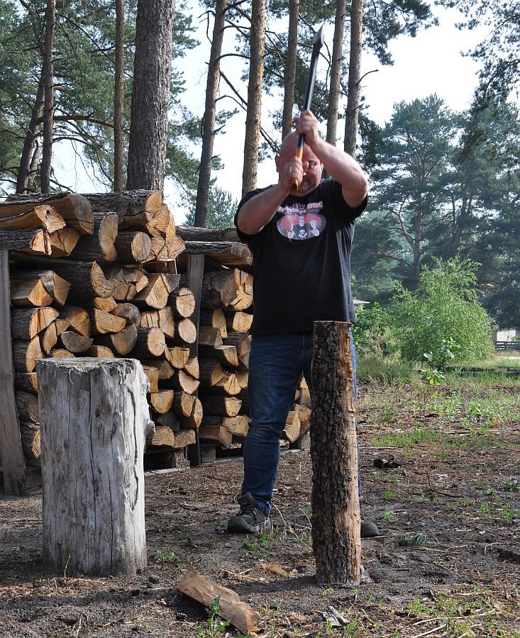 Räucherholzproduktion axtschlag-Axtschlag BBQ Wood Raeucherholz 10-Axtschlag BBQ Wood – Zu Besuch in der Räucherholzproduktion
