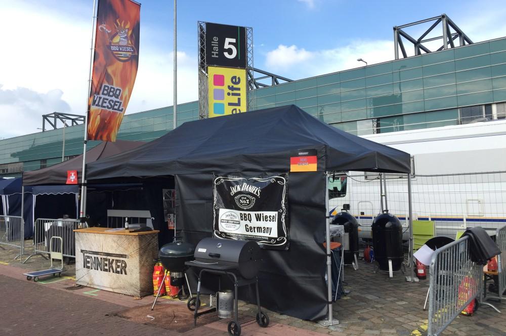 BBQ Wiesel Grill-Europameisterschaft 2016-BBQ Europmeisterschaft 2016 Bremen BBQ Wiesel 01-Grill-Europameisterschaft 2016: BBQ Wiesel werden Vize-Europameister