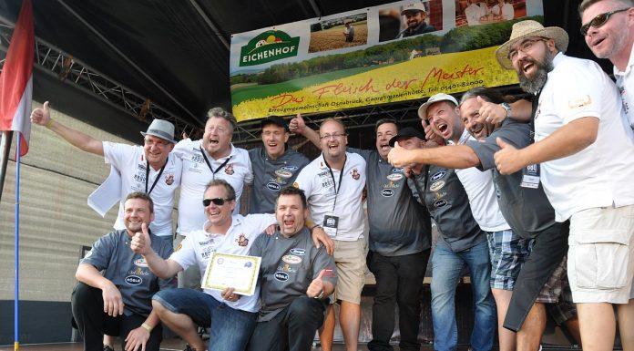Vize-Europameister BBQ Wiesel