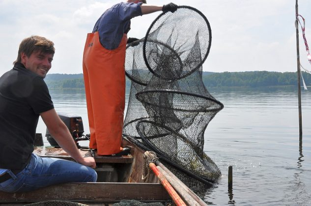fischerei am wolziger see-Fischerei Wolziger See Blossin 18 633x420-Fischerei am Wolziger See in Blossin bei Berlin
