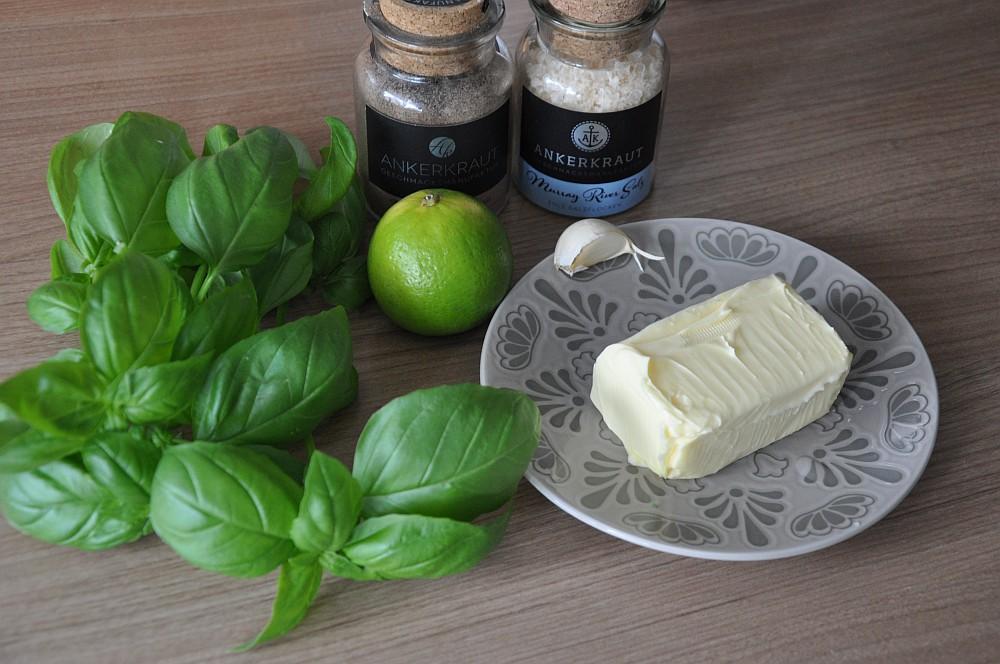 Basilikum-Limettenbutter gegrillter mais-Gegrillter Mais Maiskolben 02-Gegrillter Mais – Maiskolben mit Basilikum-Limetten-Butter