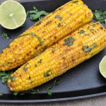 gegrillter mais-Gegrillter Mais Maiskolben 05 150x150-Gegrillter Mais – Maiskolben mit Basilikum-Limetten-Butter