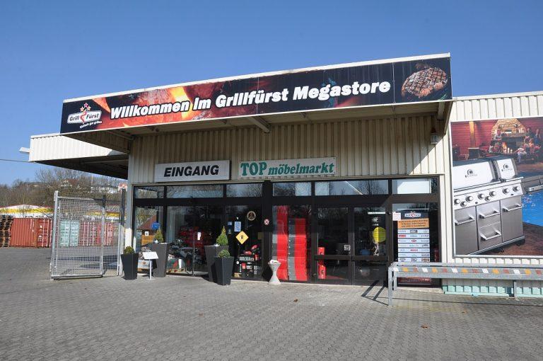 Zu Besuch im Grillfürst Megastore in Bad Hersfeld