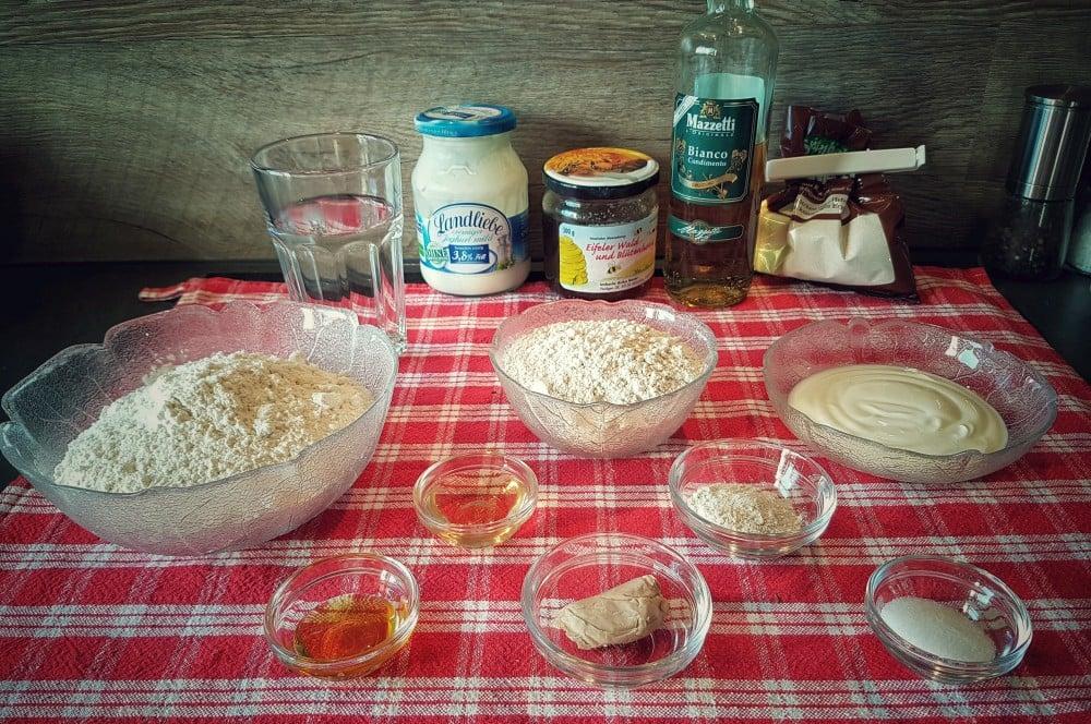 Zutaten Brot joghurt-brot-Joghurt Brot Joghurtkruste DutchOven 01-Joghurt-Brot / Joghurt-Kruste – ideal für Back-Einsteiger