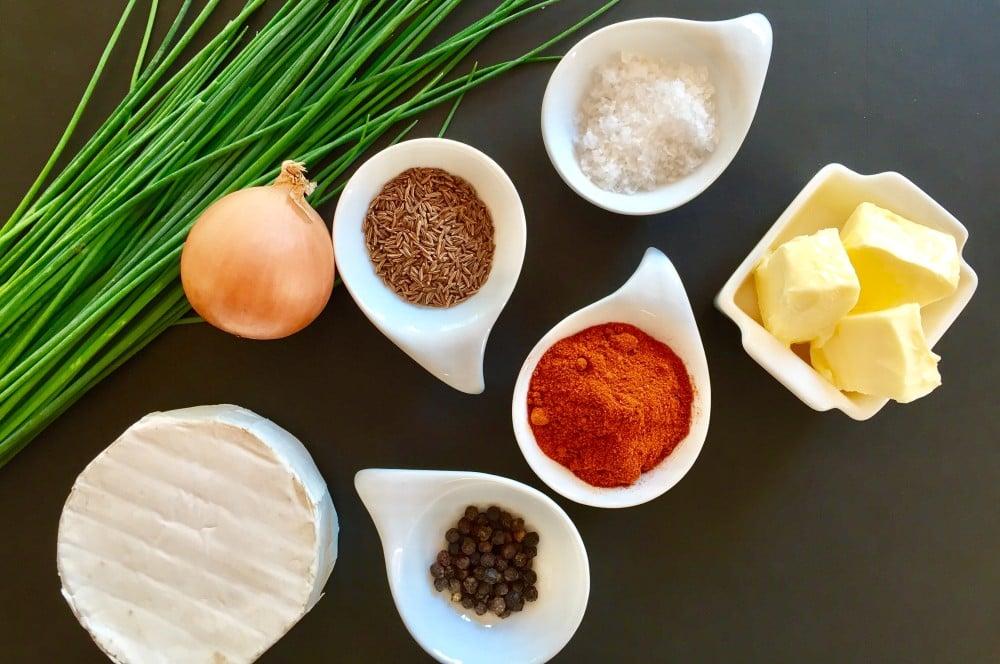 Zutaten für den Obazter obazda-Obazda 01-Obazda selber machen – Rezept für den bayrischen Brotaufstrich