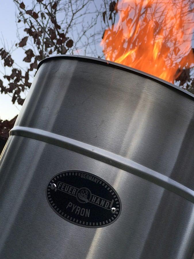 Turbine oder Feuertonne? feuerhand pyron-Feuerhand Pyron 09-Feuerhand Pyron – Feuerschale war gestern!