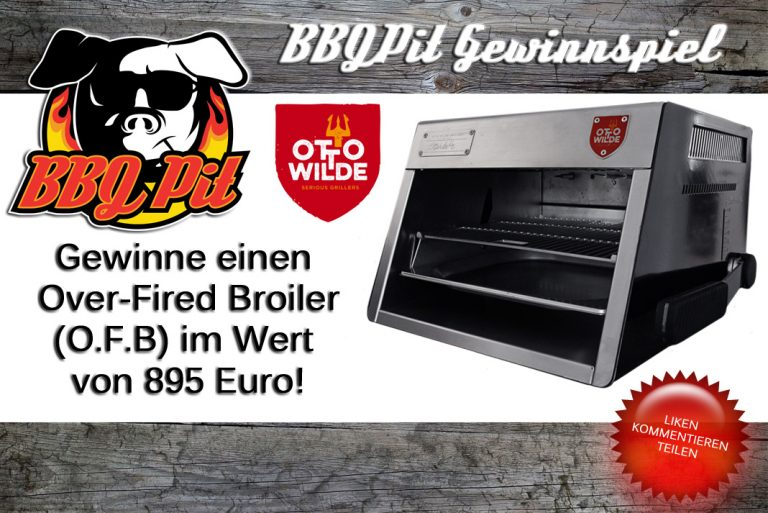 Gewinne einen O.F.B. von Otto Wilde Grillers im Wert von 895€