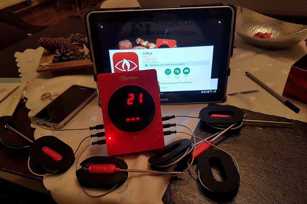 GrillEye Thermometer grilleye-GrillEye Thermometer Bluetooth Grillthermometer 01-GrillEye Thermometer – Bluetooth Grillthermometer im BBQPit-Test