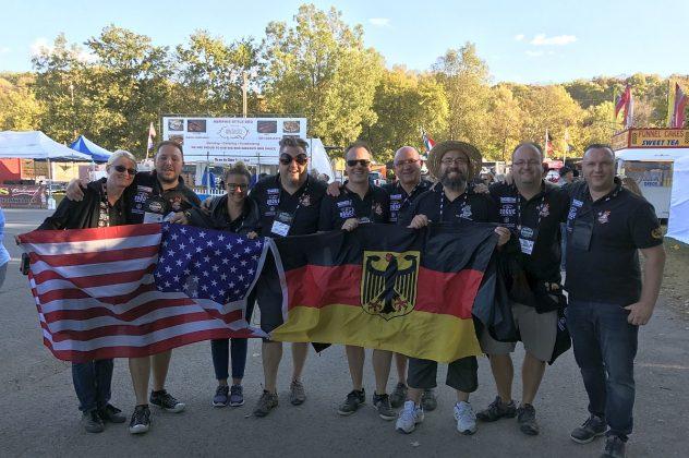 BBQ Wiesel jack daniel's bbq world championship 2016-Jack Daniels BBQ World Championship 2016 BBQ Wiesel 632x420-Jack Daniel's BBQ World Championship 2016 mit den BBQ Wieseln