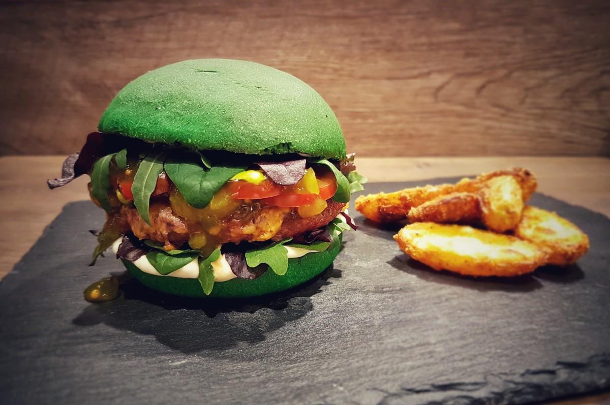 Dschungelcamp Burger dschungel-burger-Dschungel Burger Dschungelcamp gruen-Grüner Dschungel-Burger zum Dschungelcamp