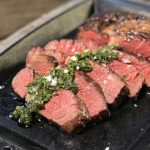 Irish Beef irisches entrecôte-Irisches Entrecote Steak dry aged RibEye Chimichurri 150x150-Irisches Entrecôte-Steak / dry-aged RibEye mit Chimichurri