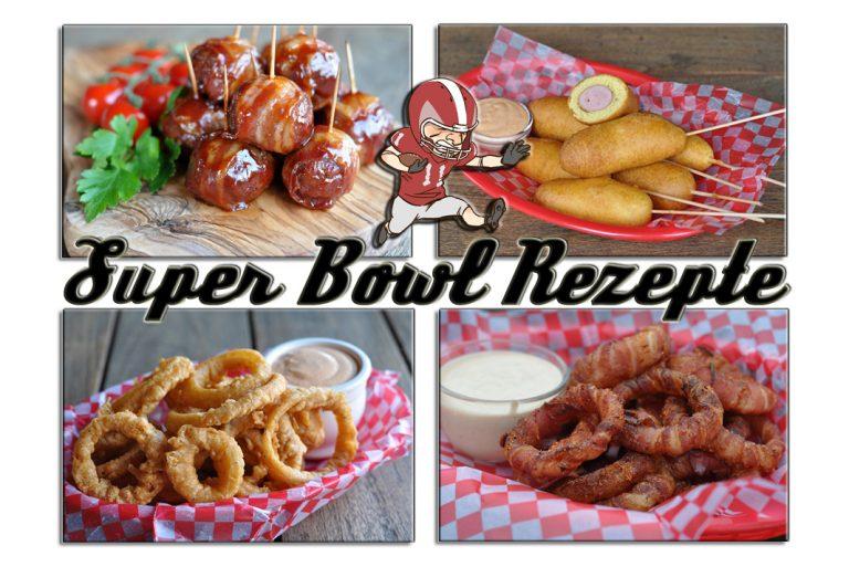 Super Bowl Rezepte – Snacks, Burger und Co. die besten Party-Rezepte