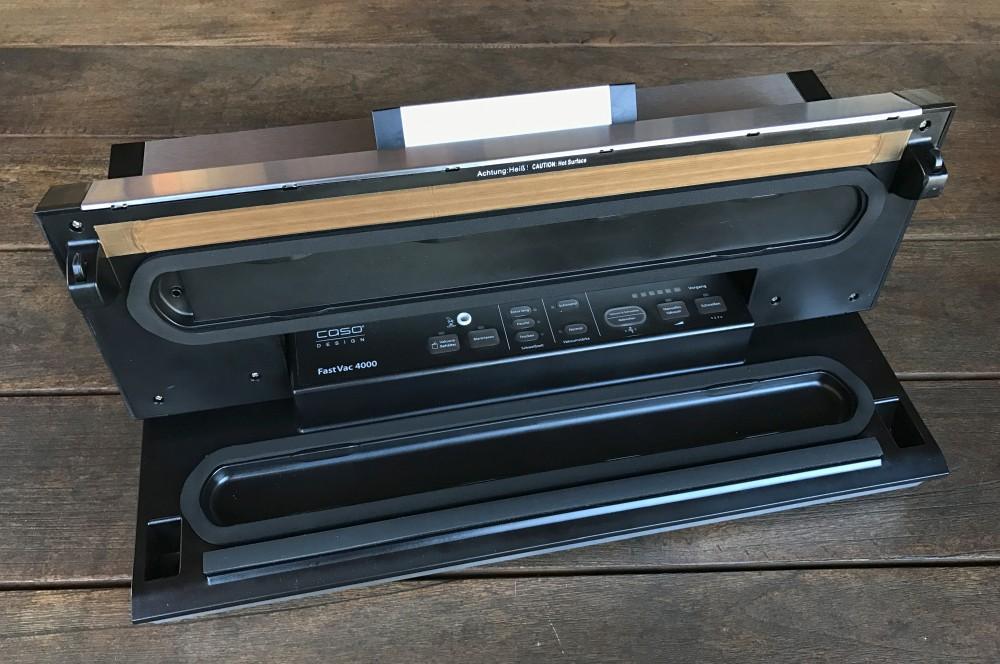 Vakuumierer mit 40 cm Breite caso fastvac 4000-Caso FastVac 4000 Vakuumierer 40cm Breite 03-CASO FastVac 4000 im Test – Vakuumierer mit 40 cm Breite