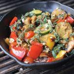 Gegrilltes Gemüse grillgemüse-Grillgemuese mit Feta Gusspfanne 150x150-Grillgemüse mit Feta