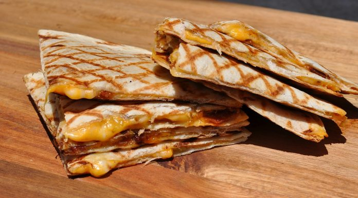 Quesadillas mit Bacon