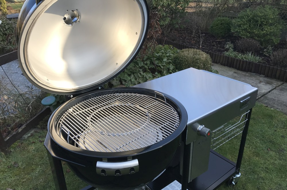 Weber Summit Charcoal Holzkohlegrill : Weber summit charcoal grill center u unboxing erste eindrücke