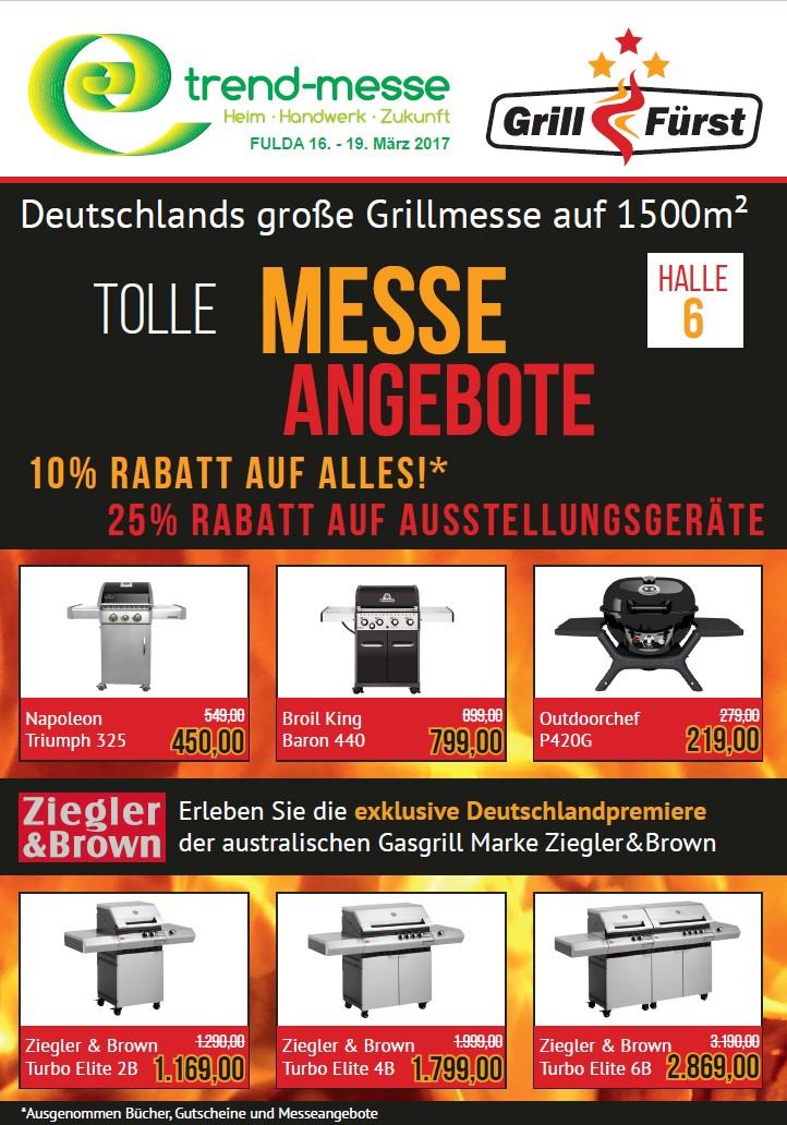 grillfürst grillmesse-Grillfuerst Messeangebote 01-Grillfürst Grillmesse vom 16.-19. März 2017 auf der Trendmesse Fulda
