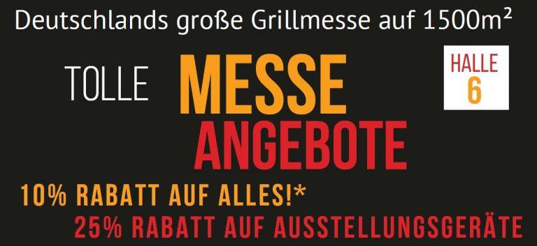 Grillfürst Grillmesse vom 16.-19. März 2017 auf der Trendmesse Fulda