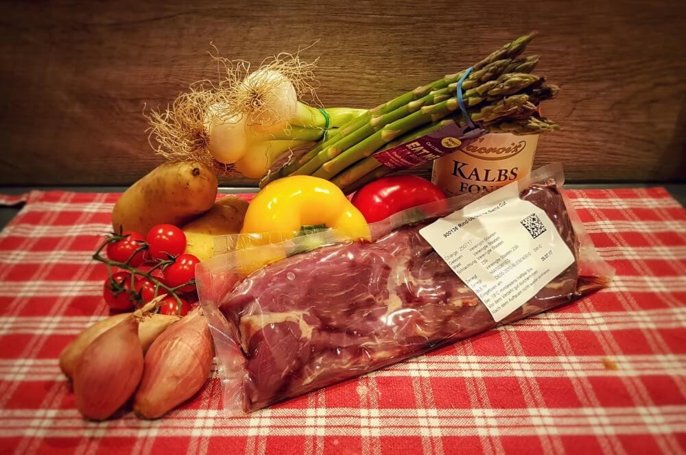 Sierra Cut mit Gemüse sierra cut-Sierra Cut 01-Sierra Cut Steak mit karamellisiertem Gemüse