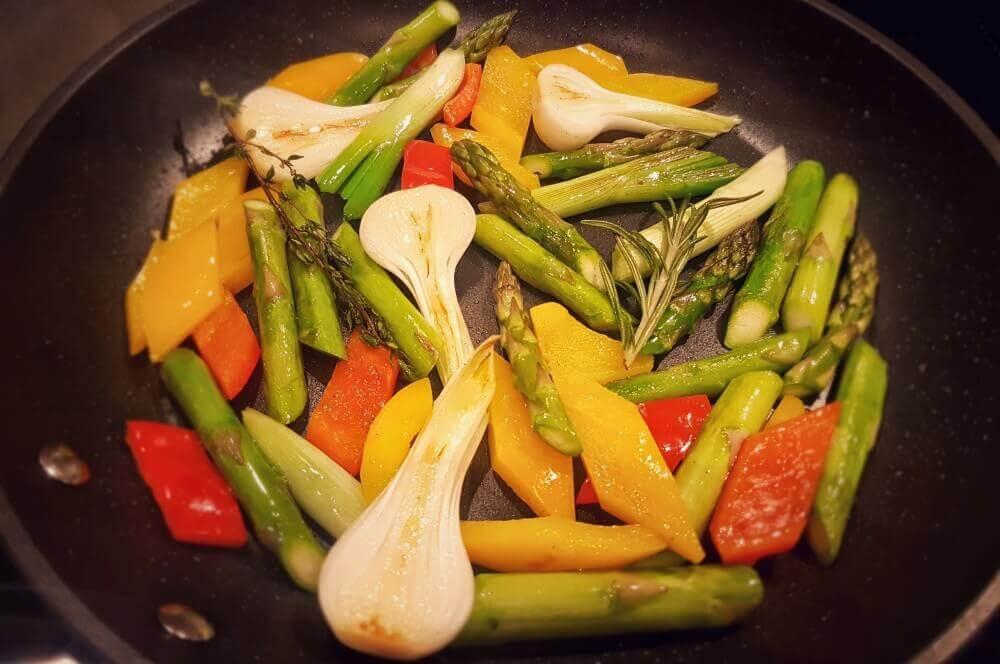 gebratenes Gemüse sierra cut-Sierra Cut 02-Sierra Cut Steak mit karamellisiertem Gemüse