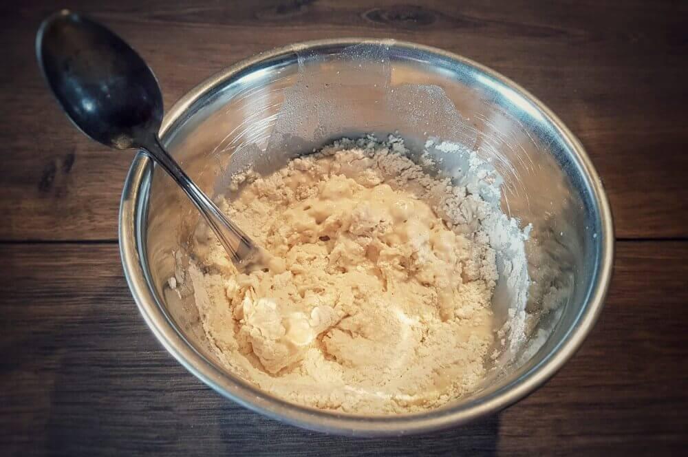 Vorteig brötchen-Broetchen Baeckerbroetchen Sonntagsbroetchen 02-Brötchen backen – Rezept für Bäckerbrötchen / Sonntagsbrötchen