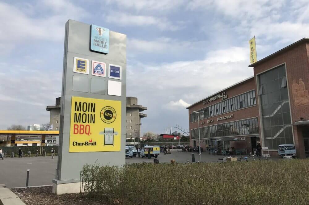 Rindermarkthalle St.Pauli char-broil pop-up store-Char Broil Pop Up Store Rindermarkthalle St Pauli Hamburg BBQ Quarter Moin Moin BBQ 01-Char-Broil Pop-Up Store in der Rindermarkthalle St.Pauli