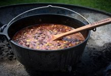 Chili aus dem Dutch Oven