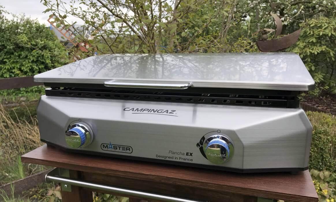 Plancha Elektrogrill Test : Plancha grillen mit der campingaz master plancha ex bbqpit