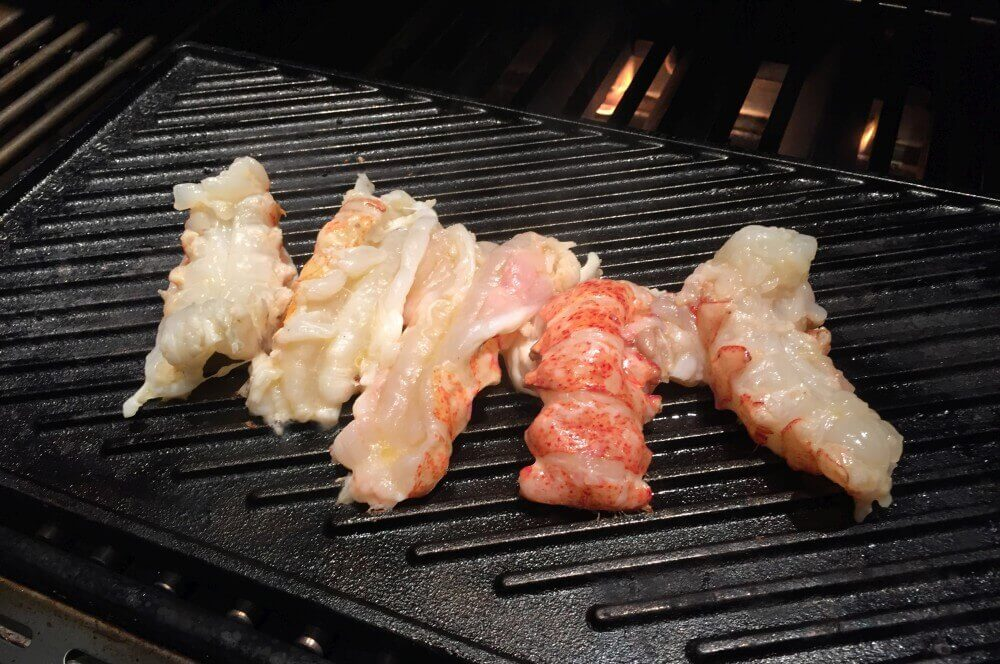 Langustenschwänze lobster roll-Lobster Roll Hummerbroetchen 02-Lobster Roll – Gegrillter Langustenschwanz im Brötchen