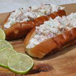 Hummerbrötchen lobster roll-Lobster Roll Hummerbroetchen 150x150-Lobster Roll – Gegrillter Langustenschwanz im Brötchen