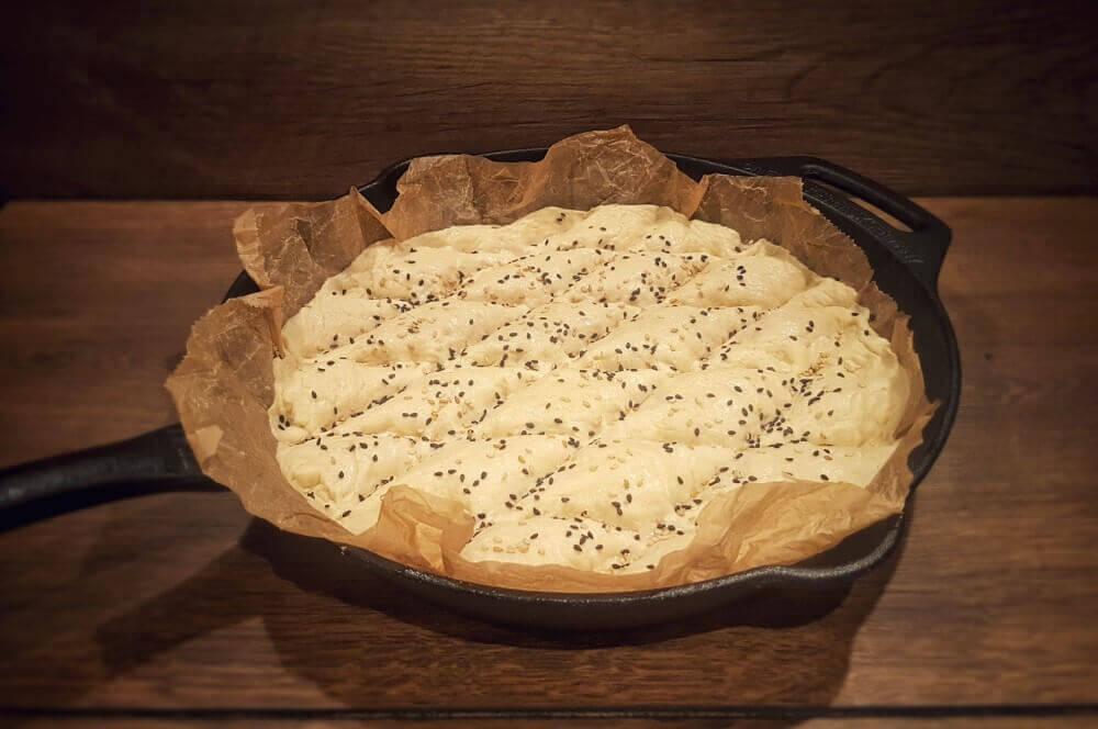 Brot in Gusspfanne fladenbrot-Fladenbrot 03-Fladenbrot – Rezept für türkisches Fladenbrot | BBQPit.de