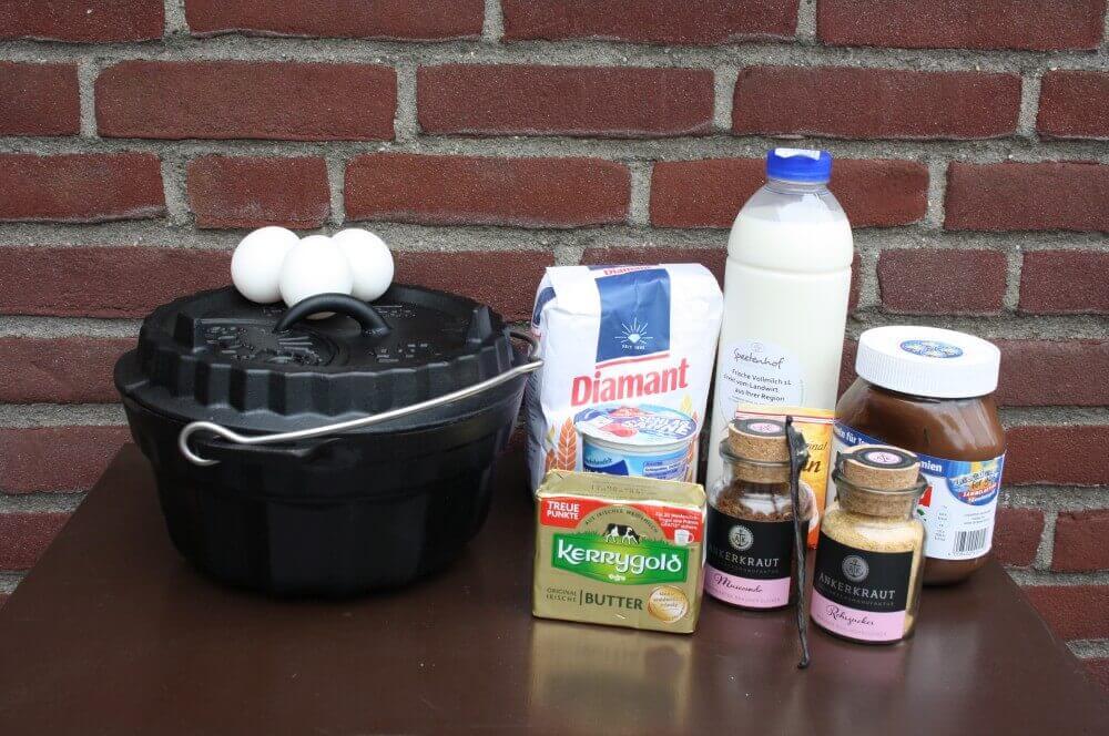 Nutellkuchen nutella gugelhupf-Nutella Gugelhupf Nutellakuchen 01-Nutella Gugelhupf – Nutellakuchen aus der Petromax Gugelhupfform gf1
