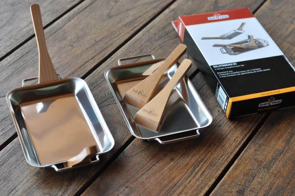 Grillen mit Grillpfännchen grillen mit grillpfännchen-Grillen mit Grillpf  nnchen 01-Grillen mit Grillpfännchen – Kleine Snacks und Raclette vom Grill